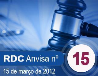 RESOLUÇÃO Nº 15, 15 DE MARÇO DE 2012