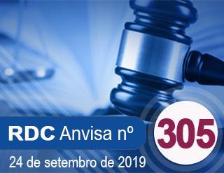 RESOLUÇÃO Nº 305, 24 DE SETEMBRO DE 2019