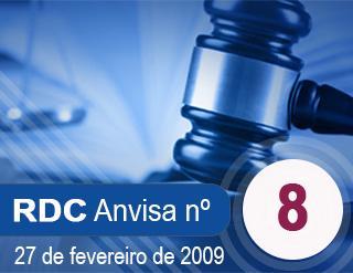 RESOLUÇÃO Nº 8, 27 DE FEVEREIRO DE 2009