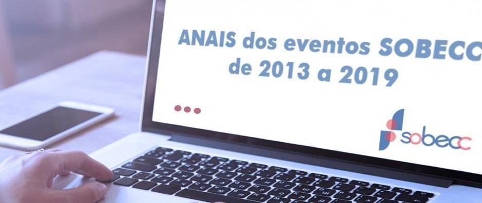 Confira os anais dos eventos SOBECC realizados em 2018 e 2019