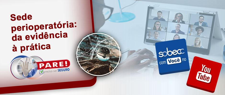 Campanha SRPA Segura realizou webinar para discutir sede perioperatória