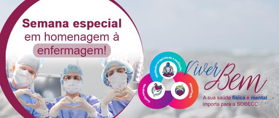 SOBECC prepara agenda especial para comemorar a semana da Enfermagem